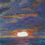 Sonnenuntergang am Atlantik