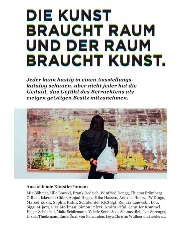 09.2019  Kurfürstenkunst, Recklinghausen Herbsttage – Gemeinschaftsausstellung