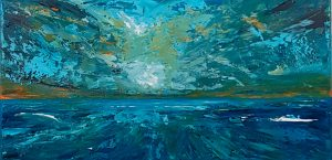 Turbulentes Meer