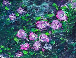 Rosengarten Rosa