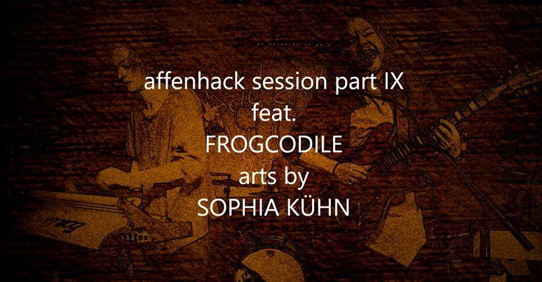 09.2019 Affenhack, Herne – Einzelausstellung