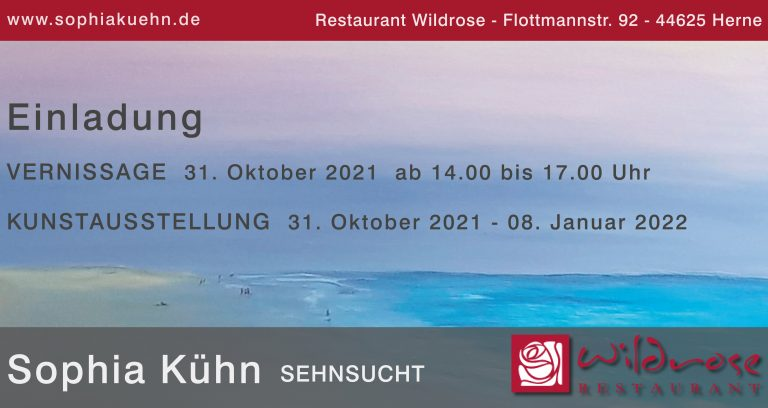 """Read more about the article """"Sehnsucht"""" – Vernissage am 31.10.21"""